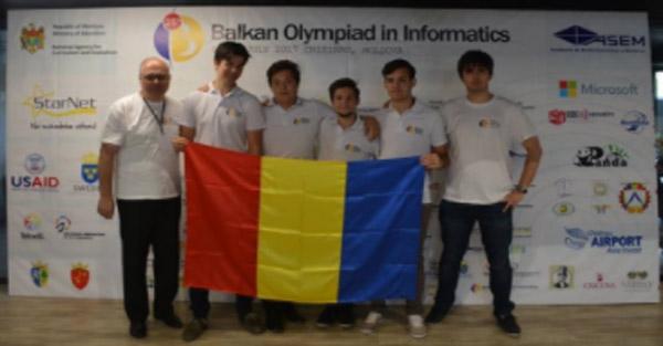 Olimpicii români au cucerit patru medalii la Balcaniada de Informatică