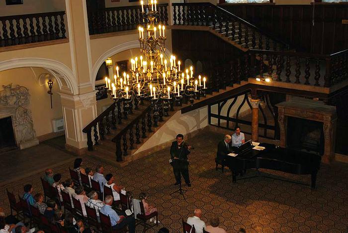 Serată muzicală la Castelul din Carei (Foto)