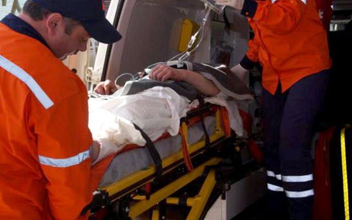 Accident cu un rănit în Satu Mare. Victima, transportată la spital
