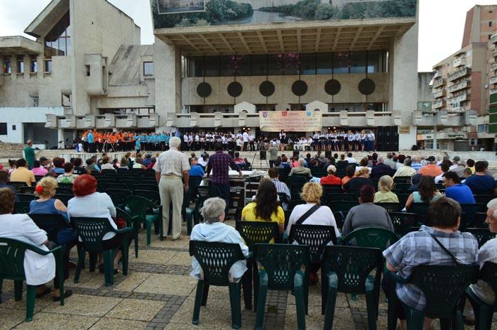 Vezi programul de astăzi al Festivalului Internațional de Fanfare