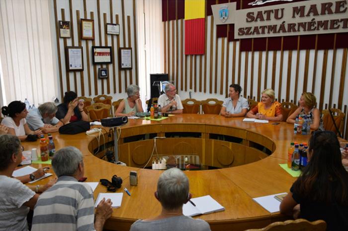 Delegație din Franța, în vizită la Satu Mare