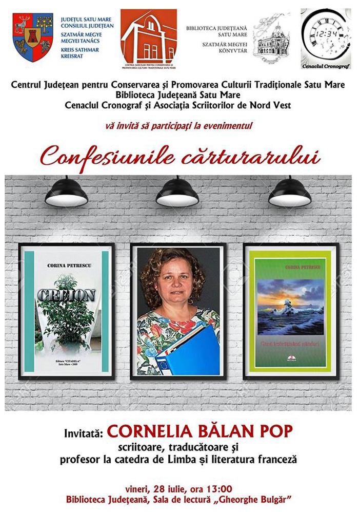 """Proiectul cultural """"Confesiunile cărturarului"""", continuă la Bibilioteca Județeană"""