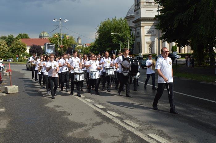Parada fanfarelor la Satu Mare (Foto&video)