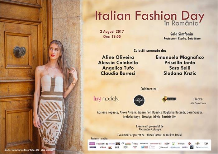 Un grup de designeri italieni își prezintă colecțiile la Satu Mare