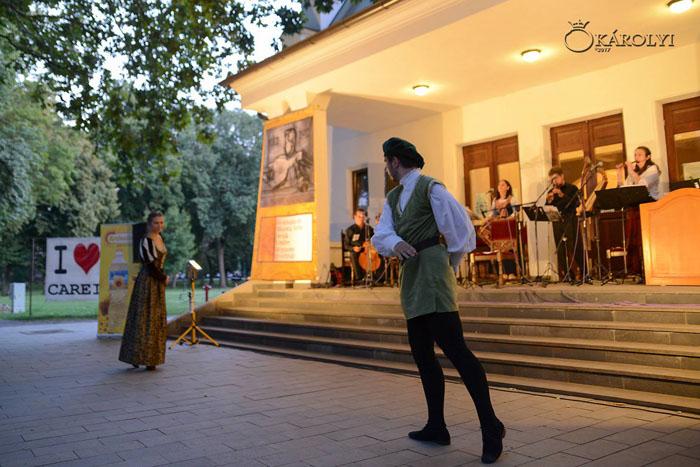 Festival de muzică veche în Parcul Dendrologic din Carei (Foto)