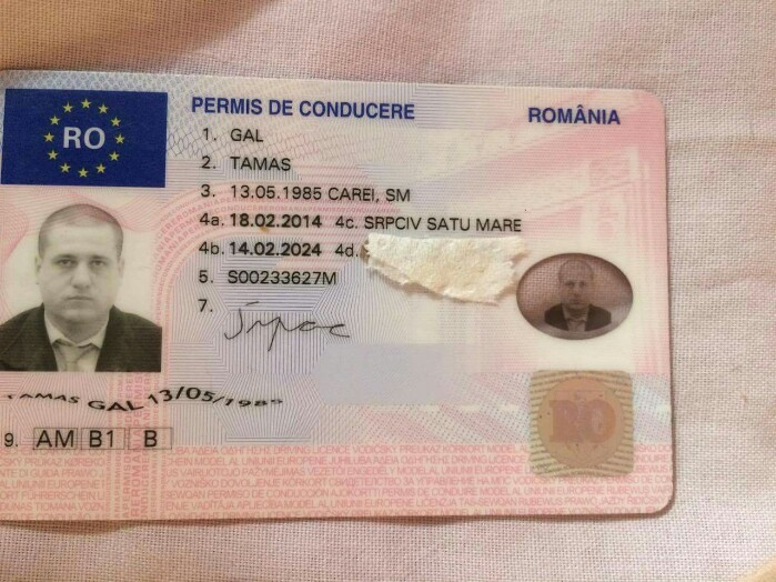 Un careian și-a pierdut permisul de conducere în Capitală. Găsitorul îl caută pe Facebook
