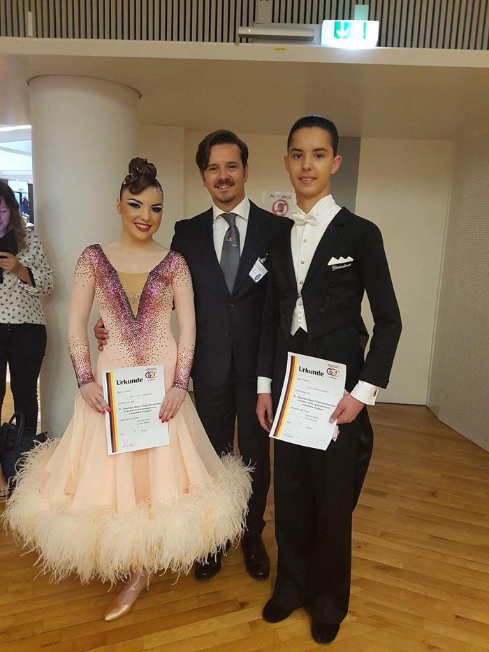 Doi sătmăreni vor participa la Campionatul Mondial de dans sportiv