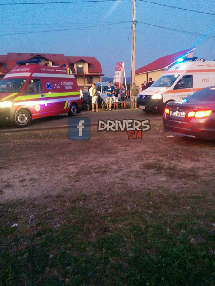 Ce spun polițiștii despre accidentul din Negrești-Oaș