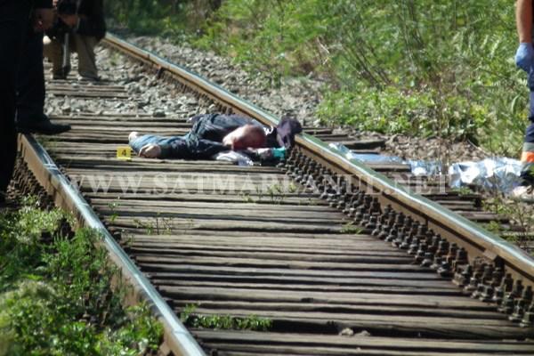 Bărbat spulberat de tren