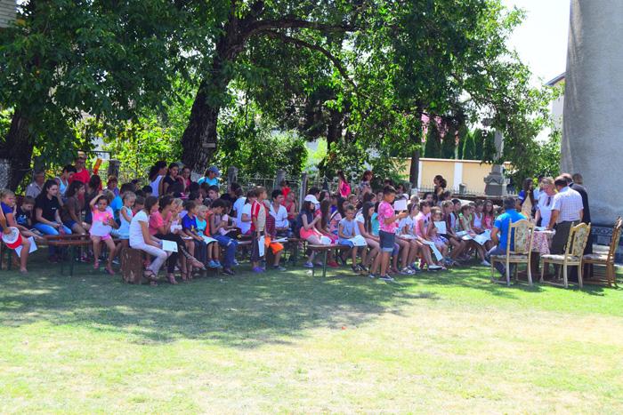 Diplome și premii la sfârșitul Taberei de vară de la Odoreu (Foto)