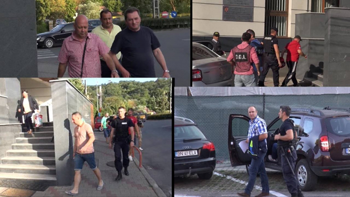 Polițiști săltați de procurori. La percheziții au participat și procurori din Satu Mare