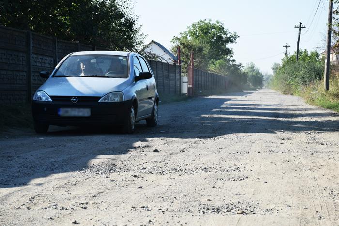 Începe modernizarea străzilor de pământ