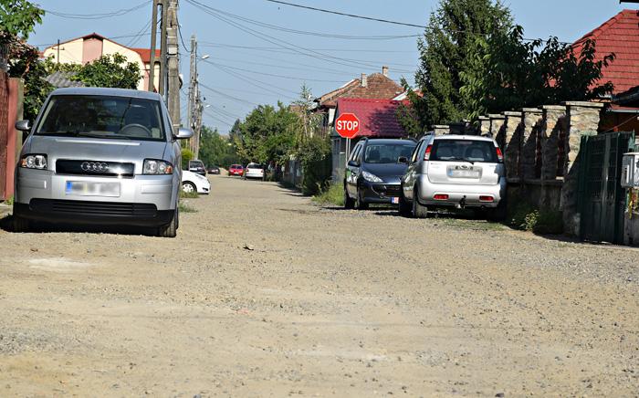 Trei străzi de pământ din municipiu intră în modernizare
