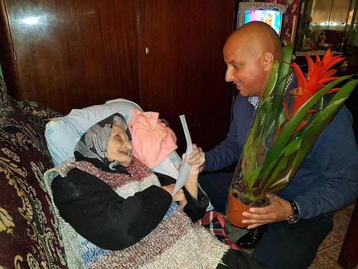 Sătmăreancă premiată la împlinirea vârstei de 103 ani