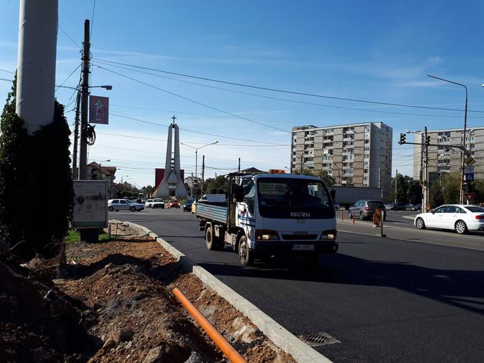 S-a redeschis traficul rutier pe Podul Decebal (Foto)