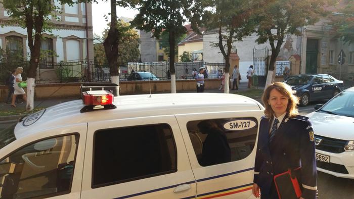 Școlile din Satu Mare, supravegheate de polițiști