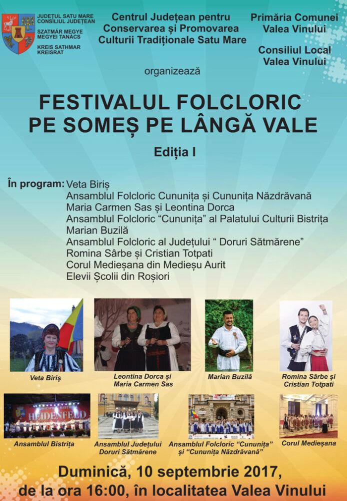 Festival folcloric la Valea Vinului
