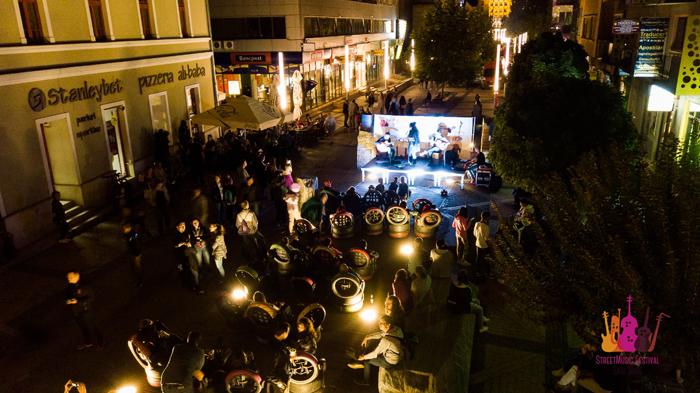 Show total la Festivalul Muzicii de Stradă din Satu Mare