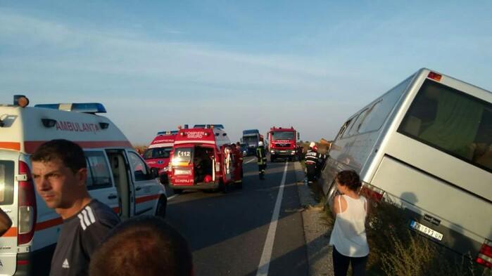 13 persoane rănite în accidentul de lângă Carei
