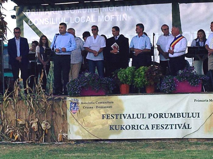 Senatorul Gabriel Leș, invitat la Festivalul Porumbului din Domănești (Foto)