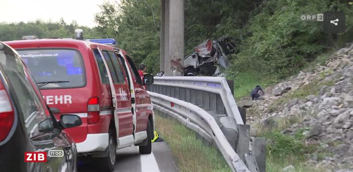Noi detalii despre teribilul accident de lângă Viena