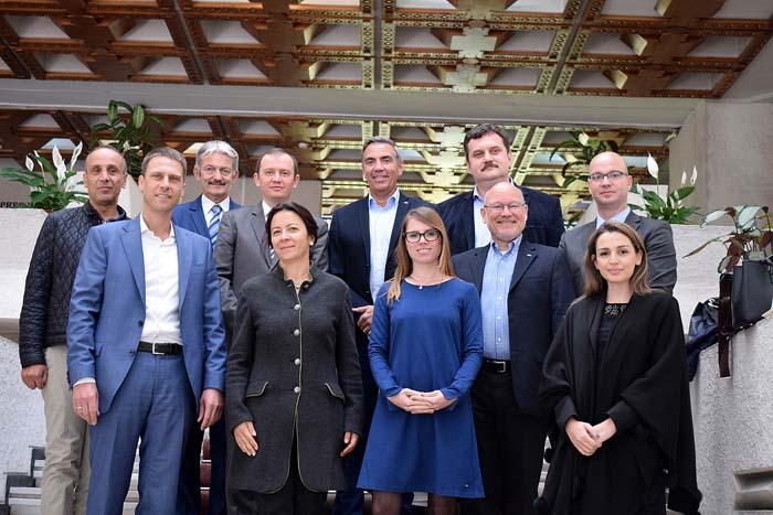 Delegaţia Camerei de Comerţ şi Industrie Româno-Germană, în vizită la Satu Mare