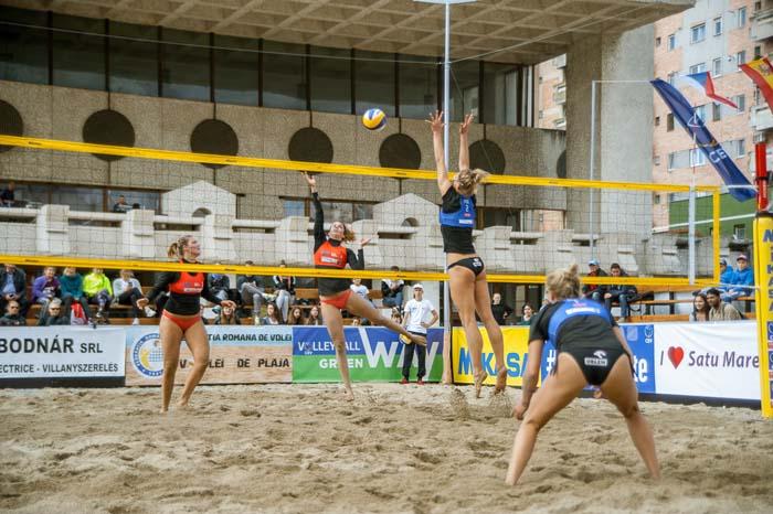 A început cea mai importantă competiție de Beach Volley din România