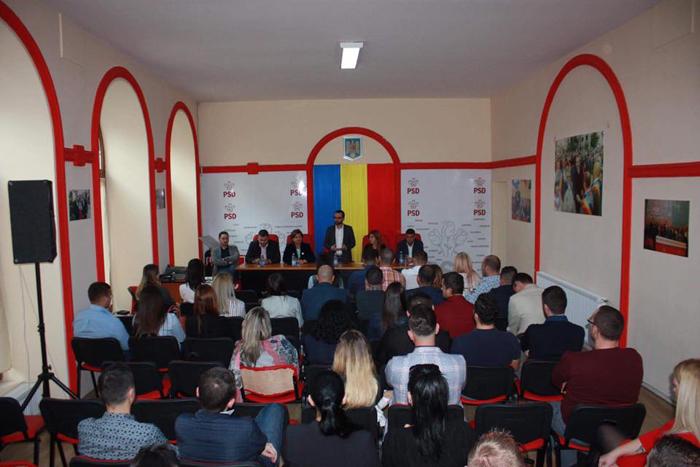Ministrul Gabriel Petrea, susținut de TSD Satu Mare pentru un nou mandat de președinte (Foto)
