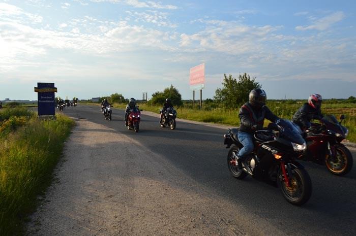 Marșul motocicliștilor, vineri, în județul Satu Mare