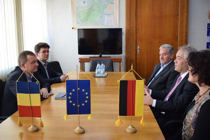 Consulul Germaniei la Timișoara, în vizită la Satu Mare