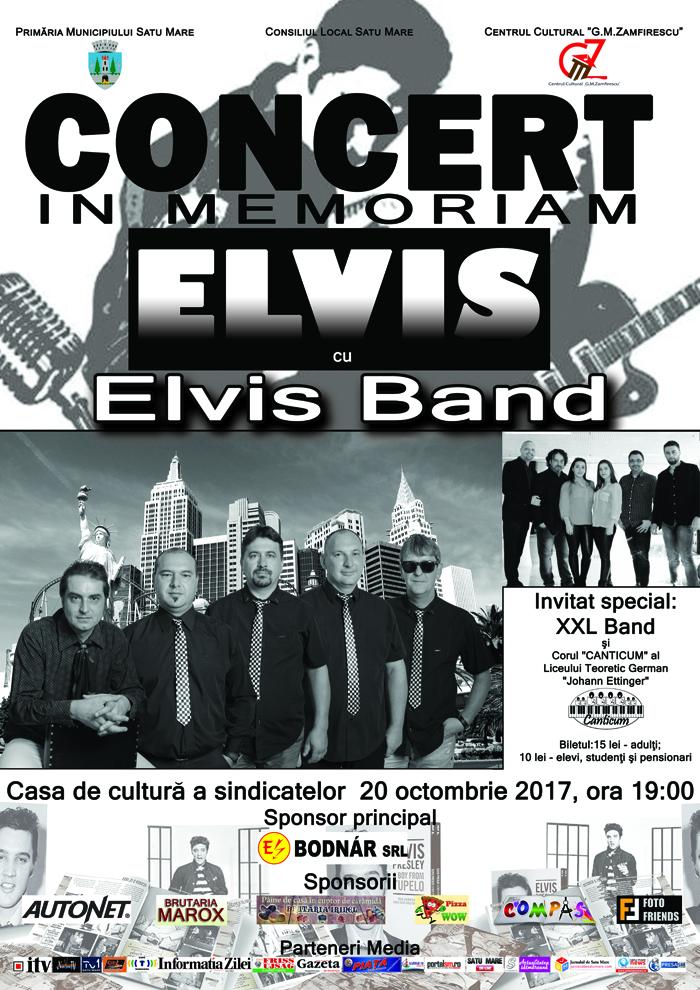 """Concert """"Elvis Band"""" la Casa de Cultură"""