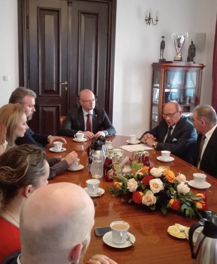 Primarul Kereskenyi Gabor, în vizită în Polonia