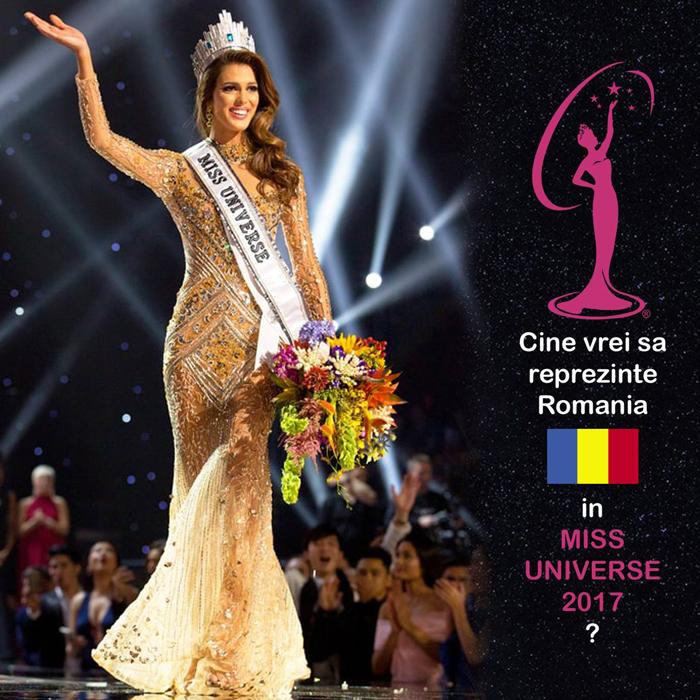 """Preselecții pentru finala """"Miss Universe Romania 2017"""". Când și unde vor avea loc"""