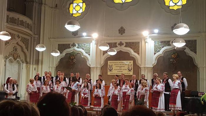 """Regal coral pe scena Filarmonicii """"Dinu Lipatti"""" (Foto)"""