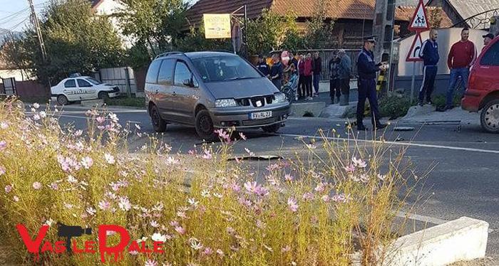 Accident provocat de o sătmăreancă. Cinci victime transportate la spital (Foto&video)