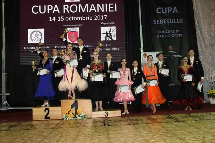 Performanță pentru dansul sportiv sătmărean ! Cupa României ajunge la Satu Mare (Foto)