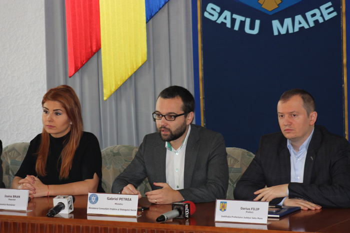 Ministrul Dialogului Social, în vizită la Satu Mare (Foto)