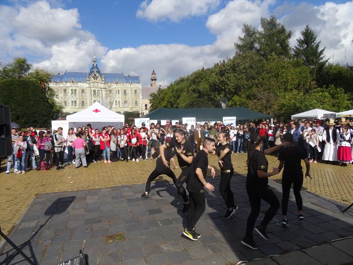 """Sute de sătmăreni au participat la """"Festivalul Voluntariatului"""" (Foto)"""
