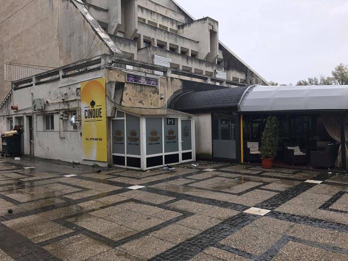 Local din centrul Sătmarului, vandalizat (Foto)