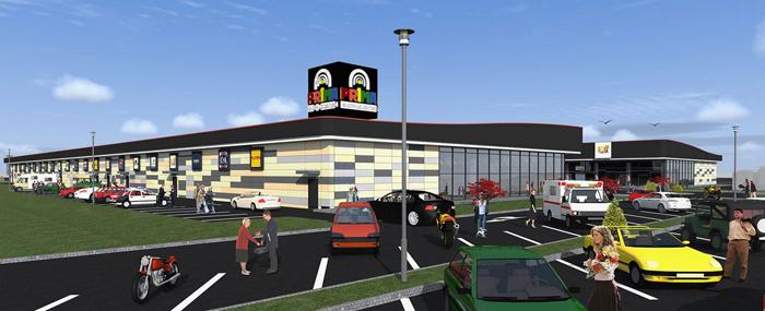 S-a aprobat PUZ-ul pentru noul mall. Unde va fi construit