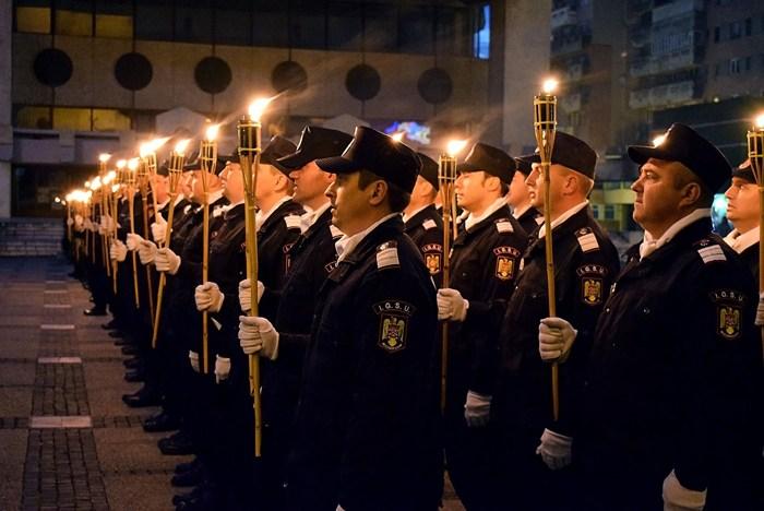 Poza unei sătmărence, în Calendarul Polițiștilor