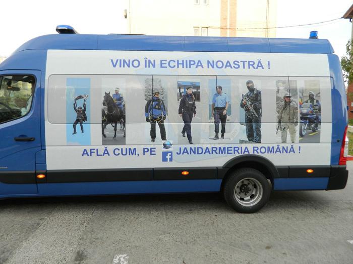 Caravana Jandarmeriei vine la Satu Mare. Unde și când