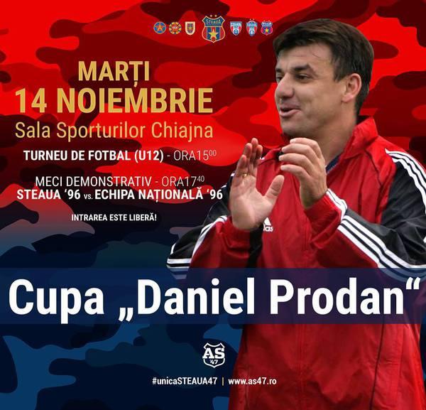Meci în memoria lui Daniel Prodan