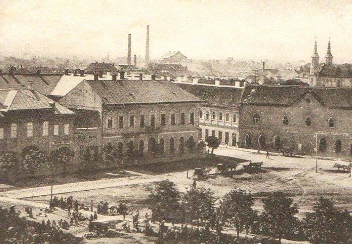 Un colț din Sătmarul de acum 100 de ani (Foto)