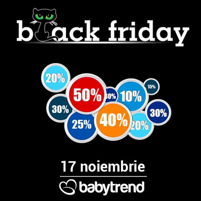 De Black Friday la Babytrend găsești cele mai mari reduceri