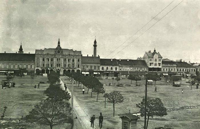 Cum arăta parcul din Centrul Vechi, cu 100 de ani în urmă (Foto)
