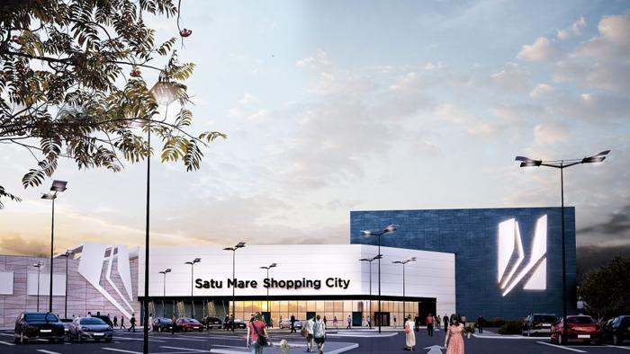 Macheta mall-ului NEPI de la Satu Mare (Foto)