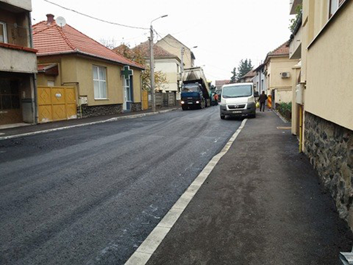Strada Nicolae Golescu, redeschisă circulației