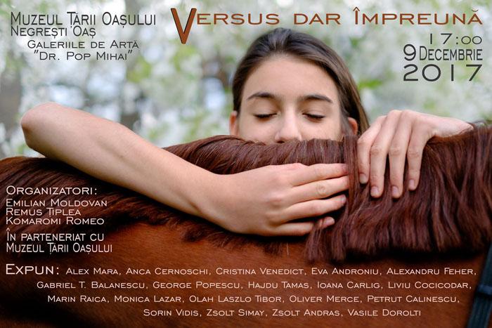 """Tradiționala expoziție """"Versus dar Împreună"""", la o nouă ediție"""