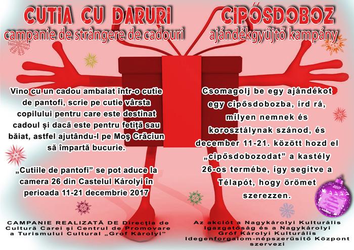 Vrei să îl ajuți pe Moș Crăciun ?